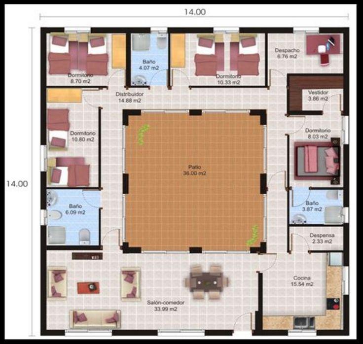 Las 25 mejores ideas sobre planos para construir casas en for Planos arquitectonicos de casas gratis