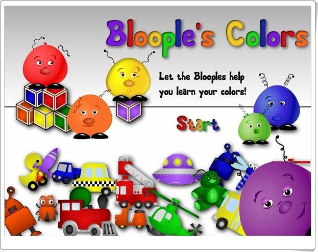 """""""Colors"""" es un bonito juego para el aprendizaje de los colores en inglés, de forma oral y escrita."""