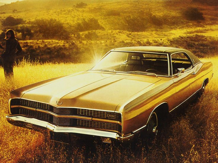 1969 Ford LTD Formal Hardtop Coupe (65A)