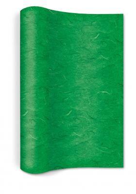 Vlies Tischläufer grün 400 x 25cm gerollt - Servietten Versand Tischdeko Kerzen OnlineShop