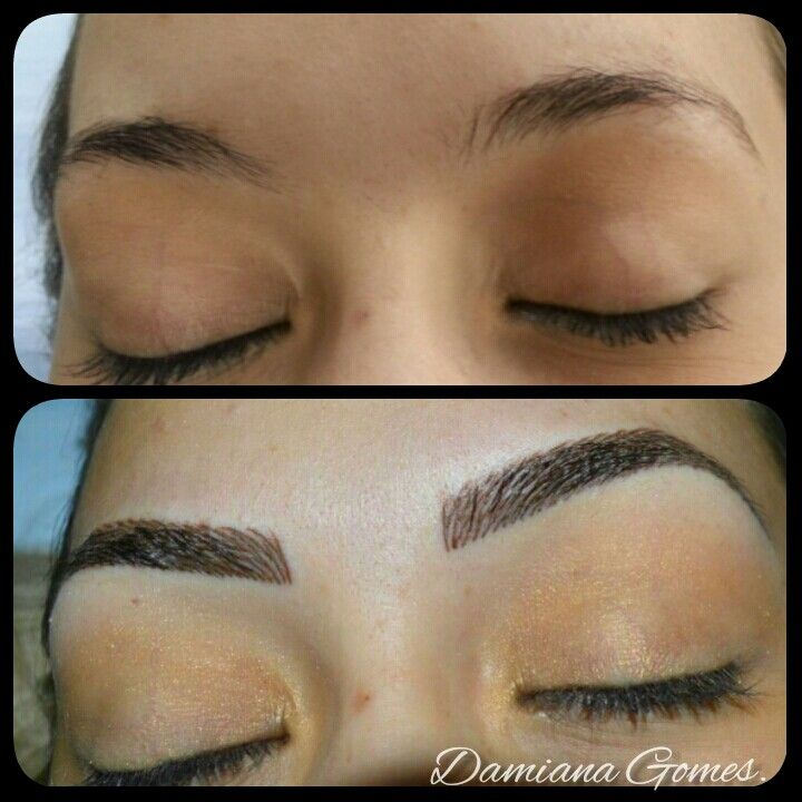 145 best images about permanent makeup and ideas on for Semi permanent tattoo eyebrows