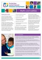 Early Childhood Australia- Newsletter 19- Myths and realities- A great resource for all educators, especially those who are a little unsure.