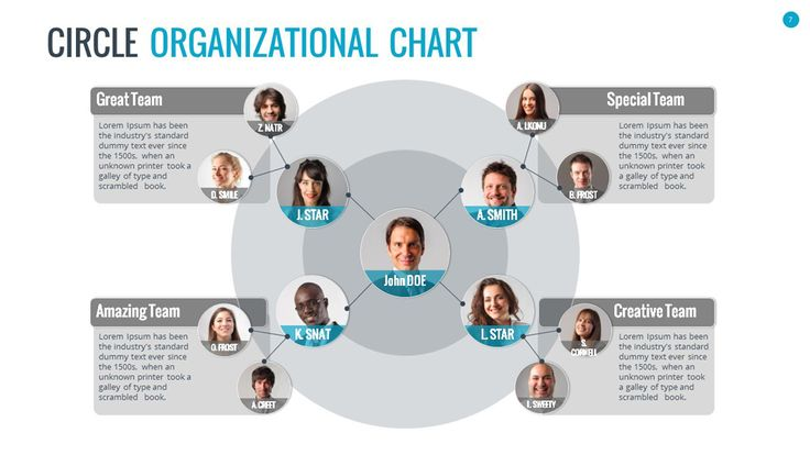 Organizational Chart and Hierarchy Template Chart, Template and - organizational chart