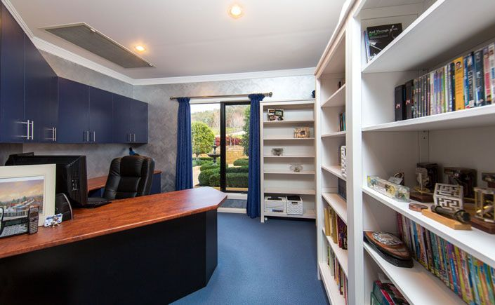 Study with Master built cupboards | Lifestyle Property For Sale | Beechworth Vic, Australia