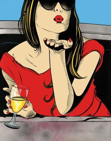 Deborah Azzopardi pop art - Pesquisa / Blowing Kisses
