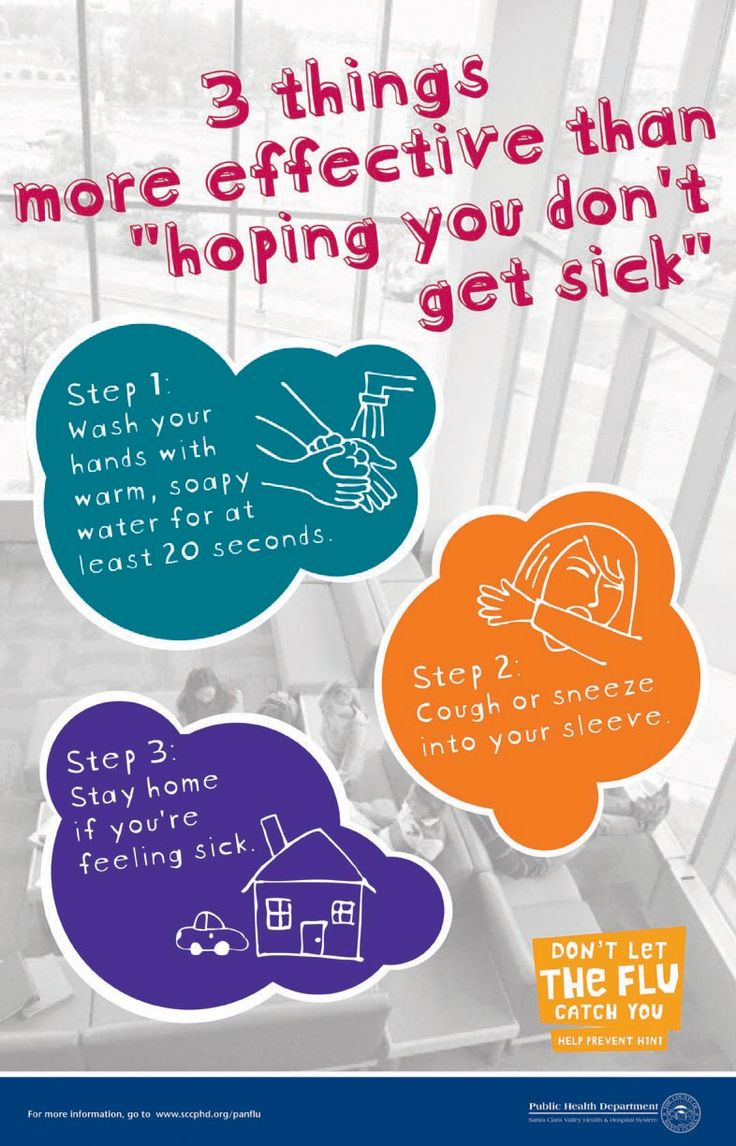 Avoiding catching the flu/cold... | Health Education | Pinterest ...