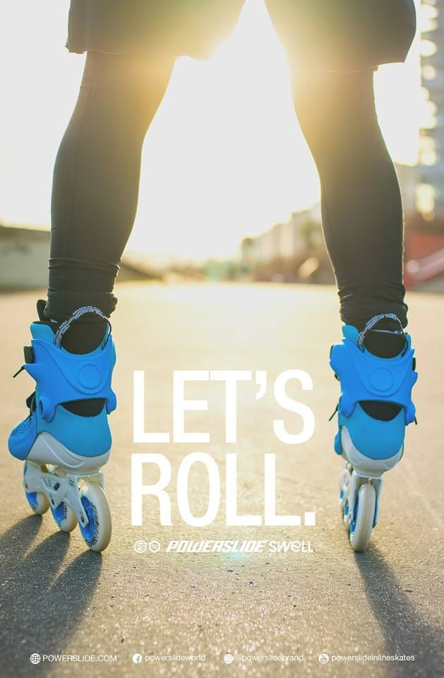 Let´s roll.  Powerslide Swell Fitness Inline Skates  www.powerslide.com www.swell.powerslide.com  #swellskates #powerslide #inlineskating #fitness #welovetoskate #fitness #shape #workout #fit