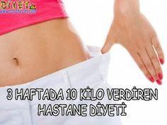 3 haftada 10 kilo diyet listesi