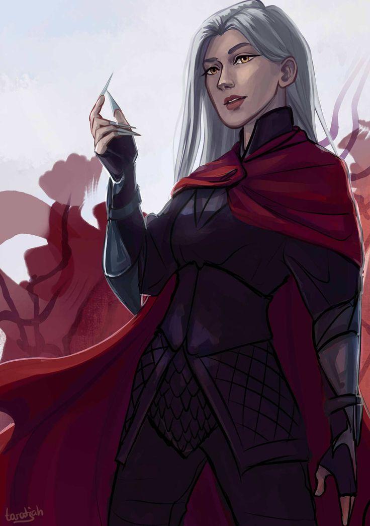Manon Blackbeak by taratjah. Heir of Fire. Queen of Shadows. Empire of Storms. Sarah J Maas