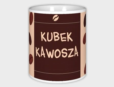 Kubek z nadrukiem, prezent dla kawosza w Schmuck Dawanda  na DaWanda.com