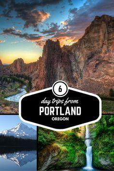 Day Trips from Portland Oregon including Mt Hood, Bend, Oregon Coast Silver Falls