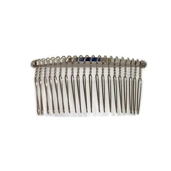 Set of 20   3 inch Metal Comb for bridal , Wedding, Special Occasion, Crafts 20 teeth