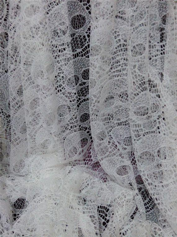 Tessuto di pizzo teschio cranio tessuto tessuto di WellTrimmed
