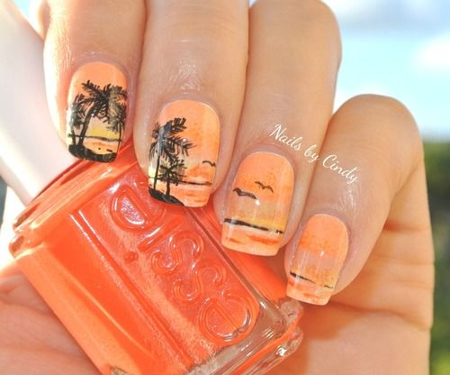 I entered this summer inspired design to the 'Its So Easy Nail Art' contest! If you have a moment please go vote for me at http://www.itssoe...