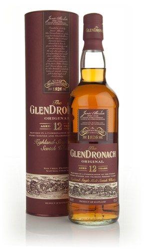 GlenDronach 12 anni - Single malt delle Highland, invecchiato in parte in botti di sherry, da cui prende note estremamente accentuate, buona lunghezza sul finale (da provare, brand molto famoso di cui ancora non ho avuto occasione di bere nulla, nonostante dalle descrizioni credo siano molto nelle mie corde)
