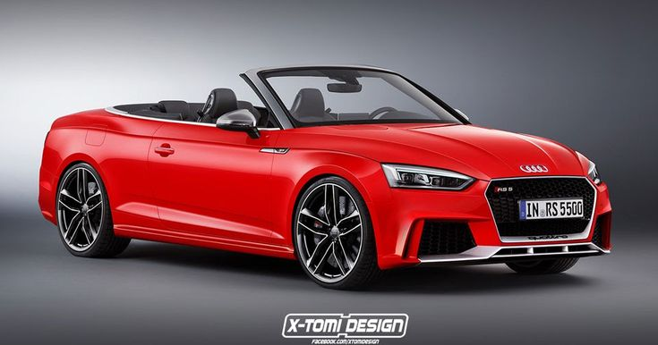 A 2018 Audi RS5 Cabriolet Would Definitely Look Sharp #Audi #Audi_RS5