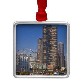 Chicago Christmas Ornament Navy Pier