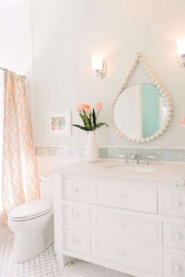17 Best Ideas About Girl Bathroom Decor On Pinterest