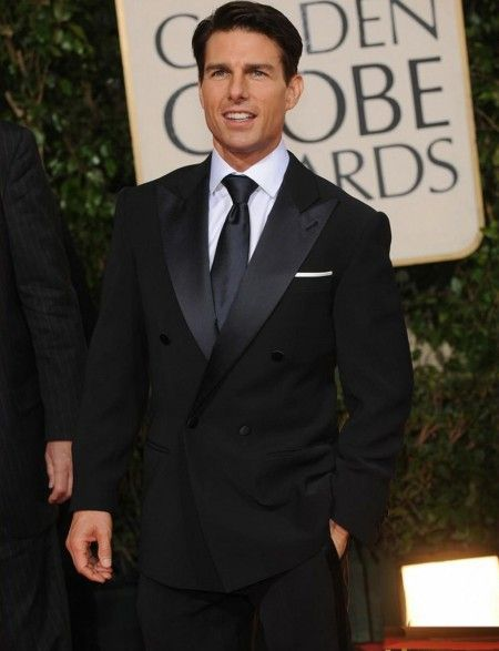 Buy this Navy Blue Double Breasted Suit. Tom Cruise's Golden Globe Navy Blue Tuxedo ON SALE. Browse More Celebrity Custom Made suits at JBsuits.com
