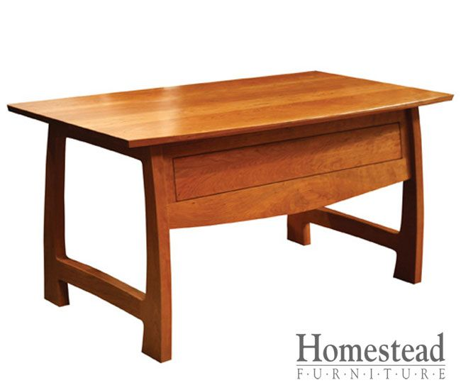 Grand River Desk By Homestead Furniture Made In Amish Country.
