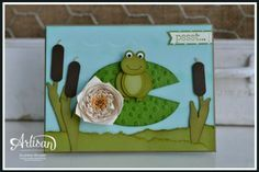 Lilly pad & frog