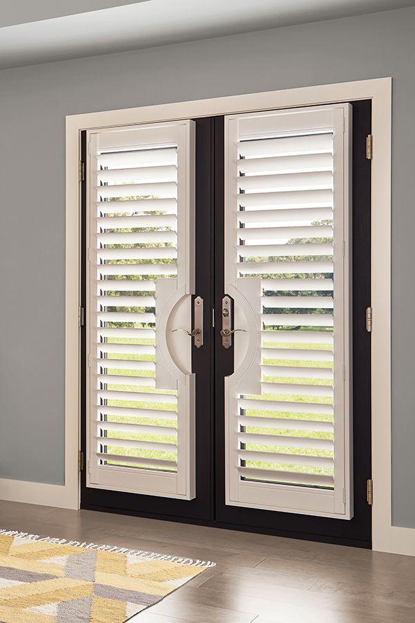 Levolor Shutters Custom Shutters Shutters French Door Window Coverings