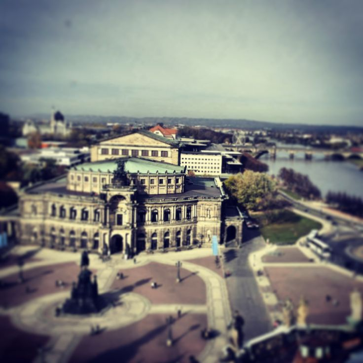 Zwingerblick und Oper #Dresden