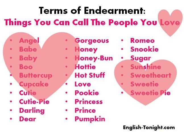 Terms Of Endearment Liber veritatis For Men
