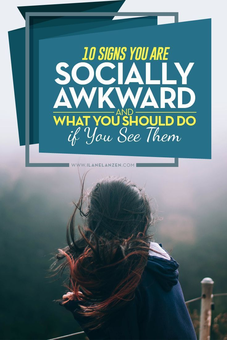 Should you embrace your social awkwardness is social settings? Is it just a part of who you are? Some people will tell you to embrace it, but I truly feel that it�s important to try and overcome being socially awkward as much as possible, especially if yo
