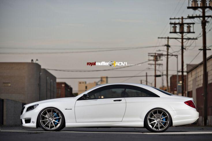 White Mercedes - company car!!!