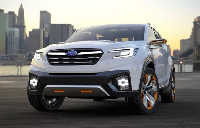 2018 Subaru Tribeca overview