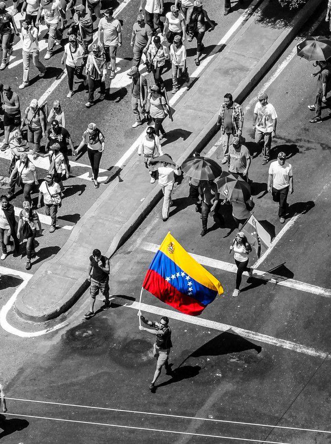 S.O.S VENEZUELA, venezolanos protestan al gobierno por el presidente Hugo Chávez