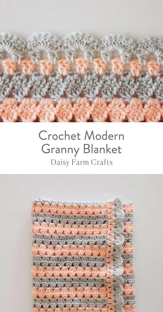 Mejores 13 imágenes de mantas de bebe en Pinterest | Tejidos de ...