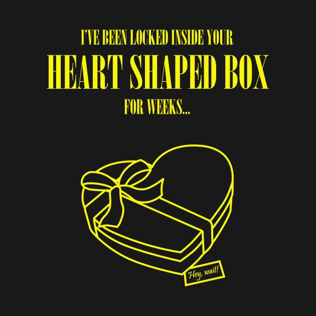 $20 Nirvana shirt Heart shaped box Check out this awesome 'Heart+shaped+box' design on @TeePublic!
