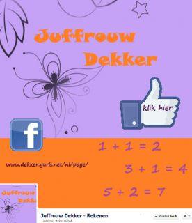 Juffrouw Dekker- Rekenen  http://www.dekker.yurls.net