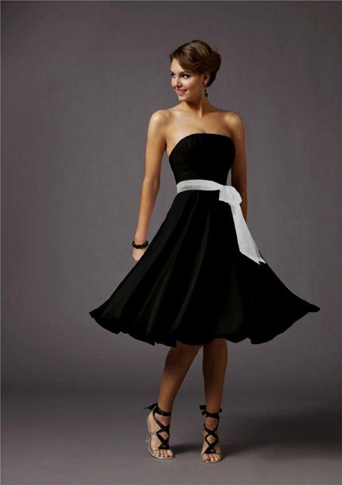 1000 ideas about semi formal wedding attire on pinterest for Black tie wedding dresses plus size