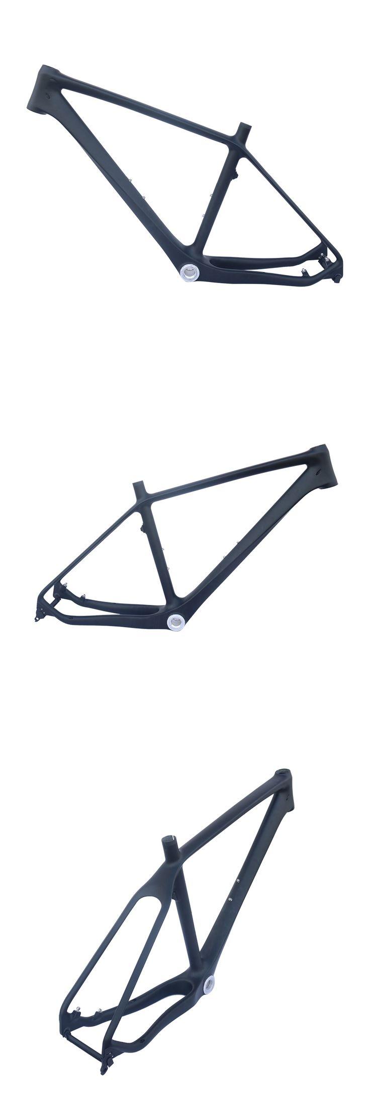 Full Carbon Fiber Mountain Bike Frame High quality   27.5er  MTB Frame,16/18inch,BSA matt black