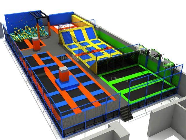 Popolar Kids Indoor Trampoline Games