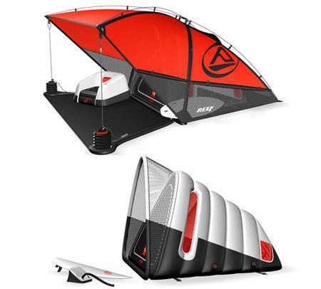 Conceito Tenda Surf Inflável