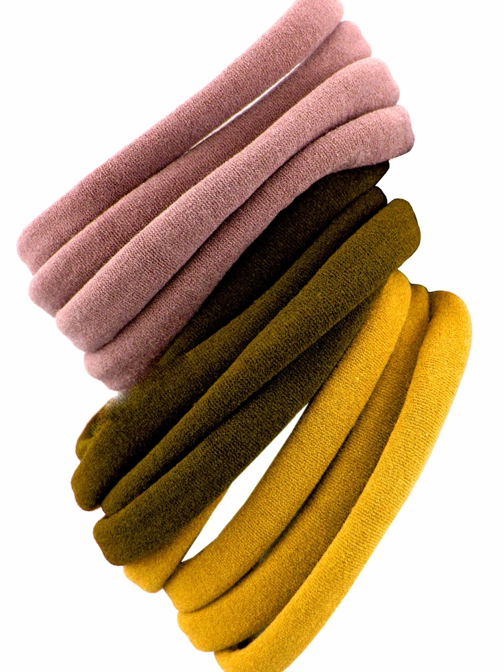   best hair ties ever   made from beechwood tree pulp from managed forests and made in the USA!