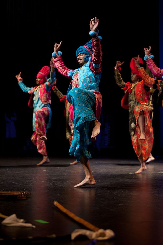 Bhangra Dance of Punjab, India