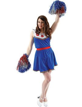 American Cheerleader Costume American Cheerleader Costume [FD74115] - £22.99 : Get It On Fancy Dress Superstore, Fancy Dress & Accessories For The Whole Family http://www.getiton-fancydress.co.uk/adult-costumes/sports-costumes/american-cheerleader-costume#.UqmpVCcUWSo