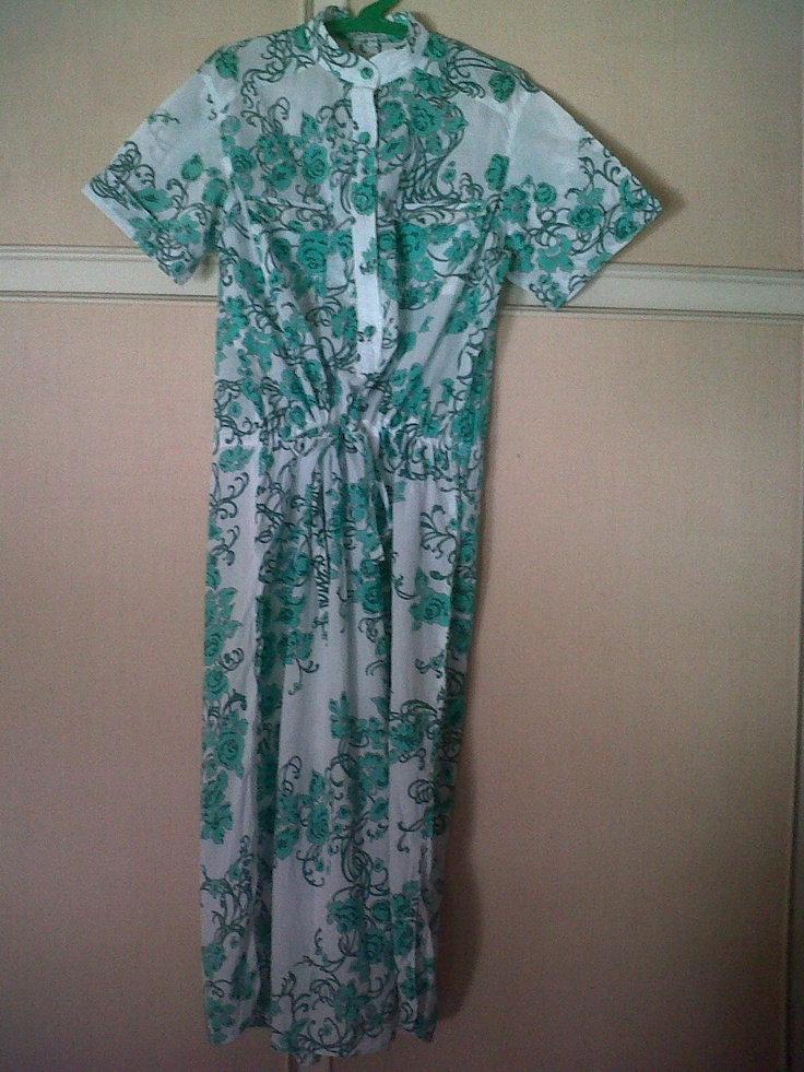 Lovely Emilio Pucci cotton dress with coulisse