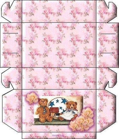 Коробочки для подарков. Шаблоны для распечатки