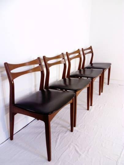 Les 25 meilleures id es de la cat gorie chaise teck sur pinterest mobilier - Les plus belles chaises design ...