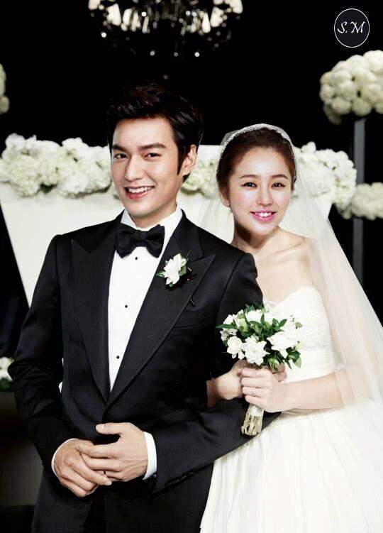 Lee Min Ho and Yoon Eun Hye Wedding #MinEun Couple #MinHo #YoonEunHye