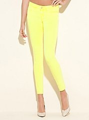 Guess skinny neon jeans