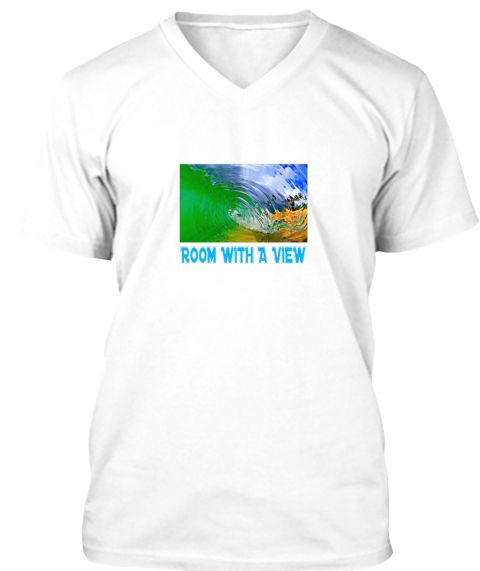 Room With A View White T-Shirt Front