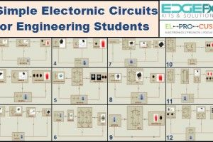 #ElectronicMiniProjects Circuits Simple Electronic Circuits.