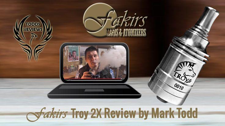 Fakirs Troy 2X Review by Mark Todd who was published review on YouTube at February 25, 2014. Thanks @toddsreviews #MeetTheFakirs #ecig #PinaGenesis #GenesisAtomizer #GenesisAtty #Atty #vape #vapeon #highendmodsonly #vapelyfe #vapefam #vapearazzi #instavape #nwvapers #calivapers #eastcoastvapers #westcoastvapers #vapersuite #vapesirens #vapesiren #vapestagram #vapecommunity #mods #vaporizer #vapeporn #vaporporn #vaporlife #vapelife #vapelove